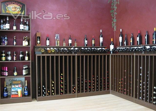Foto vinoteca vino arte m rida despu s - Diseno de vinotecas ...