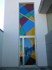 Tanatorio alhama puerta lateral