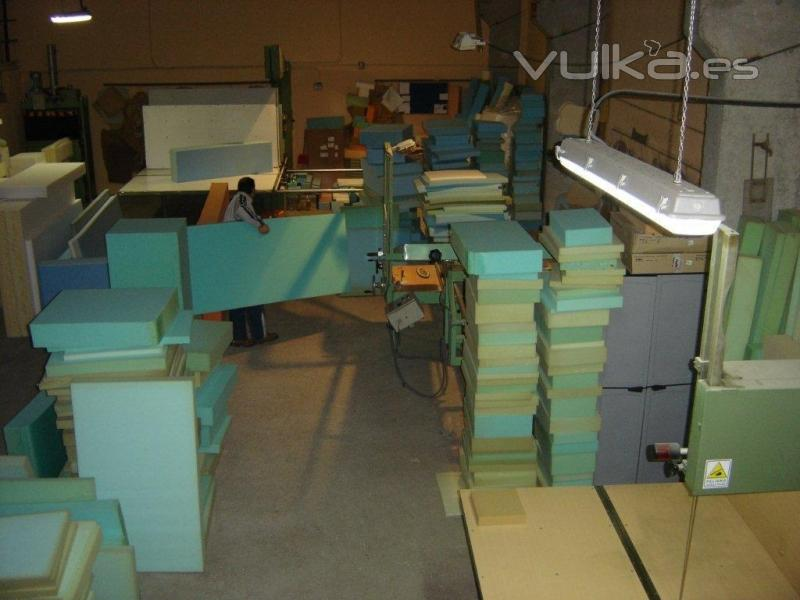Foto transformaciones de espumas de poliuretano para tapizar - Espuma para tapizar ...