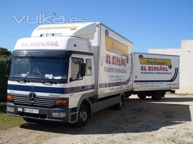 Foto tu muebles en camiones especiales para mudanzas - Empresas de muebles en espana ...