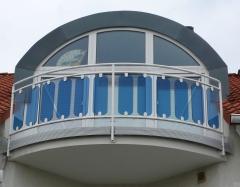 Balcon con fijacristal modelo