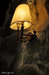 Lámpara pared.