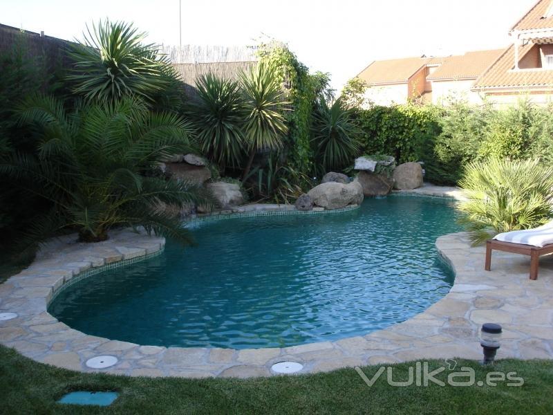 Dise o proyectos y conservaci n piscijardin for Disenos de cascadas para piscinas
