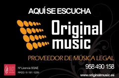 Originalmusic. Proveedor de m�sica Legal.