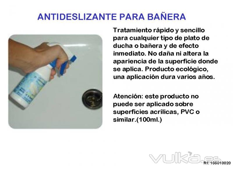 Foto spray antideslizante para ba era y ducha for Antideslizante ducha