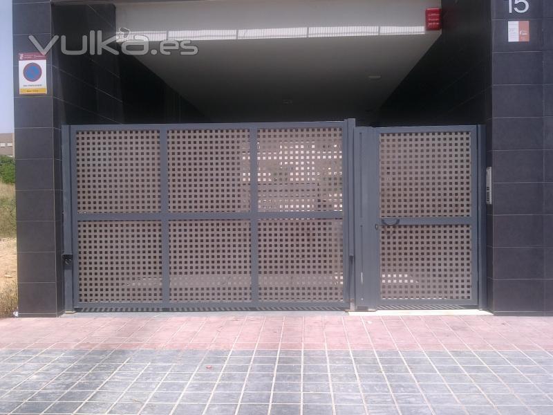 Monmatic s l puertas y automatismos for Puertas y automatismos
