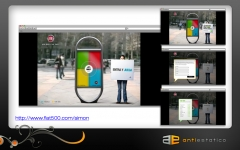 WebGame Fiat 500 by Antiestatico