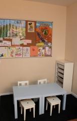 Sala de espera: �rea infantil