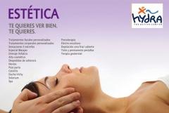 Tratamientos faciales, corporales, masajes, tratamientos remodelantes.