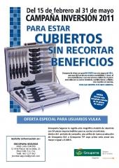 Campaña inversion 2011