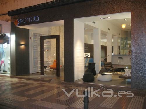 Foto imagen del exterior fachada del estudio forma for Empresas de interiorismo