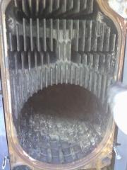 Limpieza pasos de humos de caldera gasoil.importante