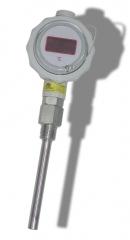 Sonda de temperatura termopar con visualizaci�n y transmisor con lazo 4-20ma
