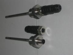 Sonda de temperatura pt100 con conector m12 con protección ip67