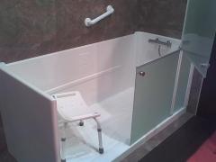 Cambiar bañera por plato de ducha sin obras en 5 horas