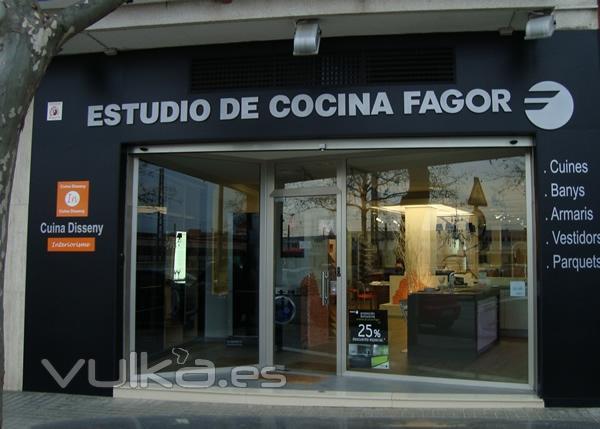 Foto interiorismo estudio de cocina fagor for Estudio de interiorismo