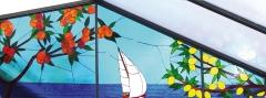 Grafito26. vidriera para residencia de ancianos