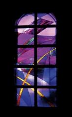 Grafito26. vidriera contemporánea