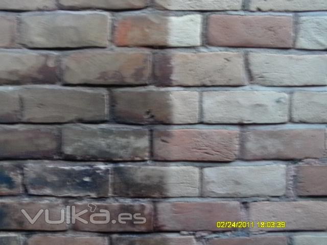 Foto limpieza de fachada con chorreo de arena en murcia - Empresas de construccion en murcia ...