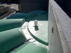 Instalación cubierta edar, dosrius