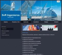 Proyectos y consultor�a de instalaciones. www.svringenieros.es