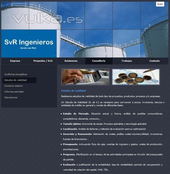 Estudios de viabilidad. www.svringenieros.es