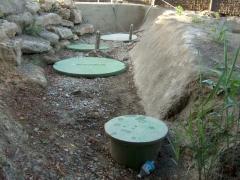 Instalación oxidación total, vivero los planteles, castellar.