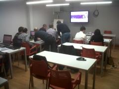 Curso de omniaccess wireless de alcatel-lucent en el nuevo aula de masscomm