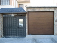 Puertas de hierro y seccional