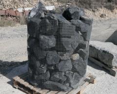 Piedra para realizacion de rocalla, delimitacion de arboles, caminos y senderos