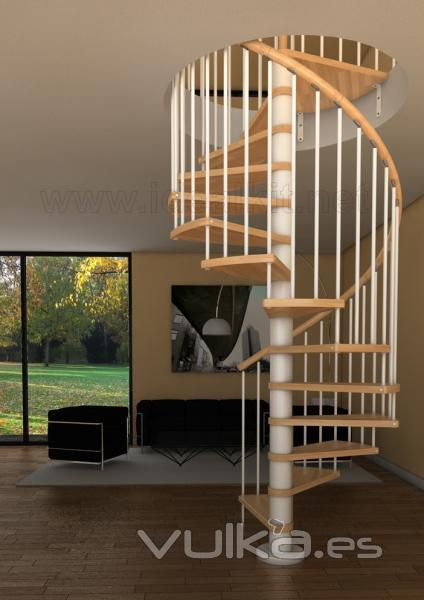 Escaleras ideal kit - Escaleras de caracol barcelona ...