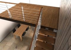 Altillo modular en madera