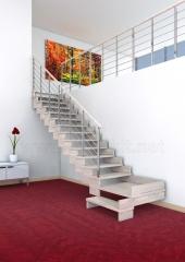 Escalera a tramos en madera Modelo MODA