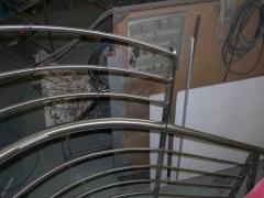 Barandilla de escalera de caracol