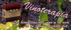 Jab�n especial vinoterapia.