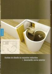 Cuarto de ba�o con ducha en caracol con paneles prefabricados