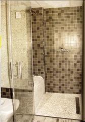 Bancos o asientos prefabricados para embaldosar para duchas