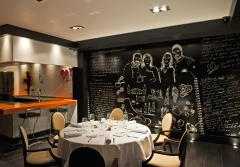 Nuevo espacio gastronomico del restaurante serrano