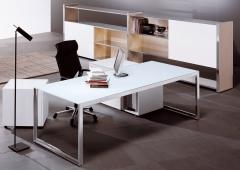 Mueble y mampara oficina, ofival
