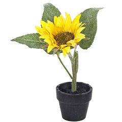 Planta artificial flores girasol en lallimona.com