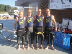 Triatlon valencia, triatletas del club natacion silos burjassot valencia