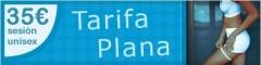 Tarifa plana 35eur y bono de 10 sesiones 320eur