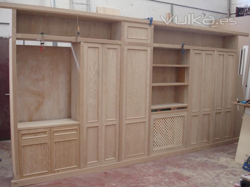 Foto mueble completo para pasillo - Muebles de pasillo ...