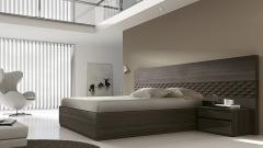 Muebles dormitorio en color volocano