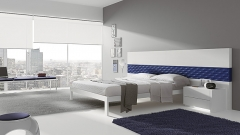 Dormitorio del catalogo urban con gran cabezal