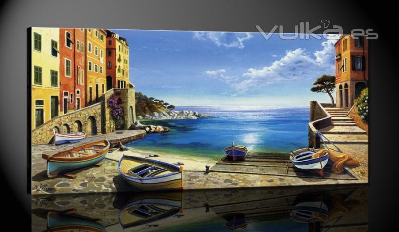 Foto de cuadros foto 4 - Empresa de pintores en madrid ...