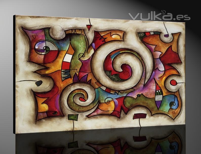 Cuadros madrid - Cuadros abstractos para salon ...