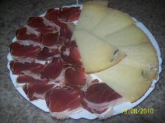 Jamon iberico y queso de oveja