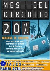 Viajes bahia azul, tel.91 331 14 55 www.viajesbahiaazul.com