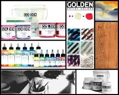 Golden Artist Colors, los productos acrílicos para artistas de mas alta gama del mercado, disponibles en Vicenç ...